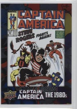 2016 Upper Deck Captain America 75th Anniversary - [Base] - Foil #DEC-35 - Captain America Vol 1 #337