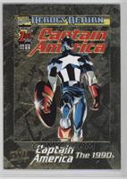 Captain America Vol 3 #1 #1/1