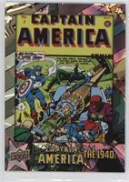 Captain America Comics Vol 1 #3 #/75