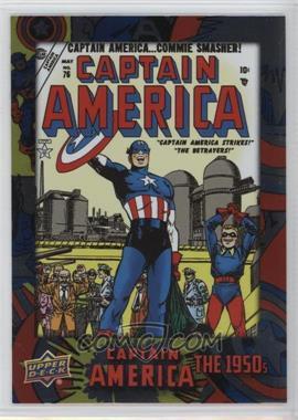 2016 Upper Deck Captain America 75th Anniversary - [Base] #DEC-68 - Short Print - Captain America Comics Vol 1 #76
