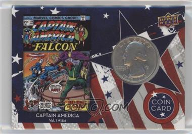 2016 Upper Deck Captain America 75th Anniversary - Coin Cards #CC-184 - Captain America Vol 1 #184