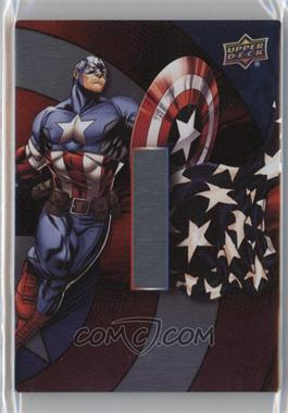 2016 Upper Deck Captain America 75th Anniversary - Name Plates #NP-6 - Vibranium Name Plate I