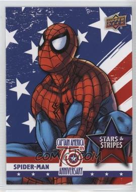 2016 Upper Deck Captain America 75th Anniversary - Stars and Stripes #SS-2 - Spider-Man