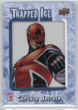 2016 Upper Deck Captain America 75th Anniversary - Trapped Ice #TI-52 - Captain Britain