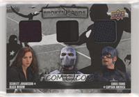 Crossbones, Captain America, Black Widow