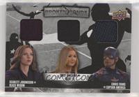 Agent 13, Captain America, Black Widow