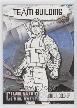 2016 Upper Deck Captain America: Civil War - Team Building #BT-5 - Winter Soldier