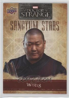 2016 Upper Deck Doctor Strange - Sanctum Stars #SS-6 - Wong