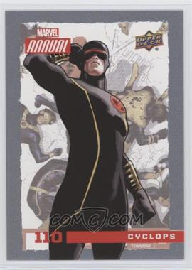 2016 Upper Deck Marvel Annual - [Base] #110 - SP - Cyclops