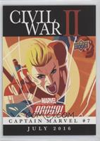 Civil War II: Captain Marvel #7