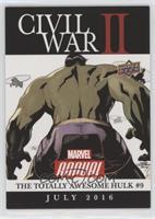 Civil War II: The Totally Awesome Hulk #9