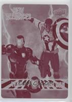 Team Iron Man - Captain America, Iron Man #/1
