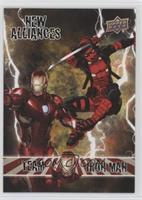 Team Iron Man - Deadpool, Iron Man