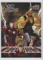 Team Iron Man - Luke Cage, Iron Man