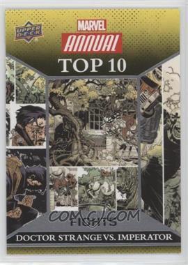 2016 Upper Deck Marvel Annual - Top 10 Fights #TF-5 - Doctor Strange, Imperator