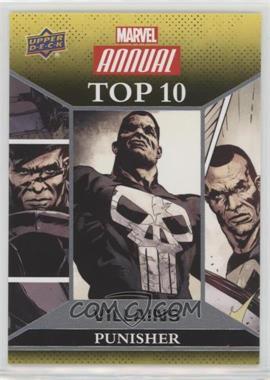 2016 Upper Deck Marvel Annual - Top 10 Villains #TV-9 - Punisher