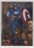 Captain America #/199