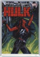 Level 1 - Red She-Hulk #/1,499