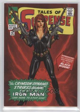 """2016 Upper Deck Marvel Masterpieces - [Base] - """"What If"""" #63 - Level 2 - Black Widow /999"""