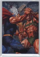 Hercules vs. Thor [Noted]