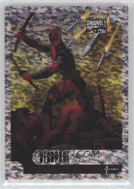 2016 Upper Deck Marvel Masterpieces - Holofoil - Speckle #12 - Deadpool /99