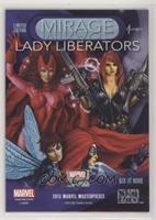 Wasp, Scarlet Witch, Medusa, Black Widow