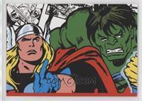 Thor, Incredible Hulk