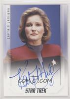 Kate Mulgrew as Captain Janeway