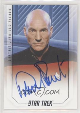 2017 Rittenhouse Star Trek 50th Anniversary - The Captains Autographs #PAST - Patrick Stewart as Captain Jean-Luc Picard
