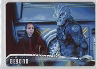 As Kirk battles Krall, Uhura... /100