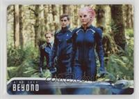 Kalara leads Kirk and Chekov through... /100