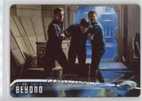 After Scotty beams aboard Spock and... #/100