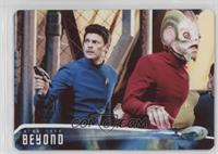 As Spock goes in search... /100