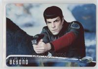 Spock cautiously works his way... /100