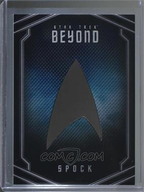 2017 Rittenhouse Star Trek Beyond - Uniform Pin Relics #UB10 - Zachary Quinto as Spock