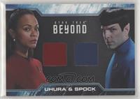 Uhura, Spock
