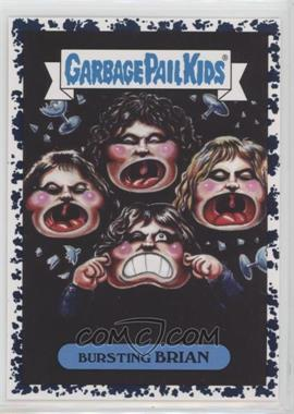 2017 Topps Garbage Pail Kids Battle of the Bands - Classic Rock Sticker - Bruised #18b - Bursting Brian