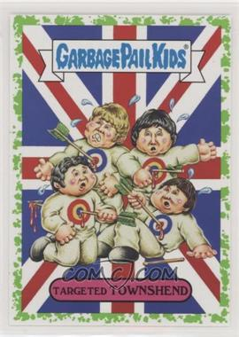 2017 Topps Garbage Pail Kids Battle of the Bands - Classic Rock Sticker - Puke #5b - Targeted Townshend