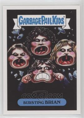 2017 Topps Garbage Pail Kids Battle of the Bands - Classic Rock Sticker #18b - Bursting Brian