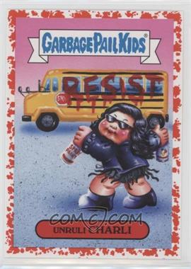 2017 Topps Garbage Pail Kids Battle of the Bands - Pop Sticker - Bloody Nose #19a - Unruli Charli /75
