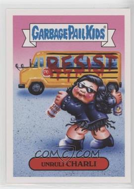 2017 Topps Garbage Pail Kids Battle of the Bands - Pop Sticker #19a - Unruli Charli