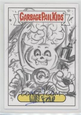 2017 Topps Garbage Pail Kids Battle of the Bands - Sketch Cards #UNAR - Unknown Artist /1