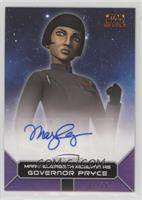 Mary Elizabeth McGlynn as Governor Pryce #/25