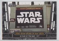 Star Wars Opens on May 25th