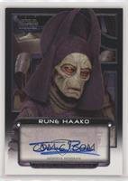Jerome Blake as Rune Haako #/199