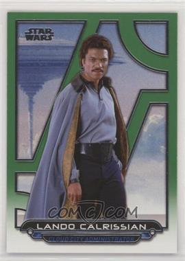 2017 Topps Star Wars Galactic Files Reborn - [Base] - Green #ESB-3 - Lando Calrissian /199