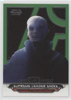Supreme Leader Snoke #/199