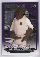Admiral Ackbar [Noted] #/99