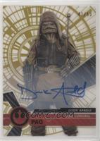 Rogue One Signers - Derek Arnold, Pao #/50