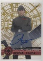 Rogue One Signers - Richard Cunningham as General Ramda #/50